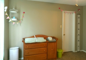 I want to paint the changing table!